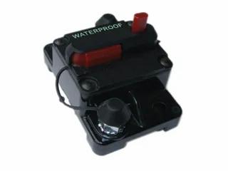 30A)Manual reset C/Breaker W/Proof42V Max