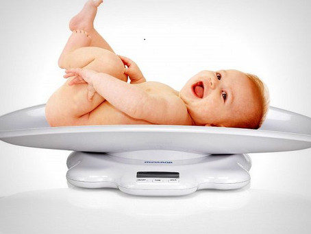 Прибавка веса ребенка по месяцам