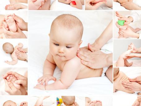 Массаж для новорожденных