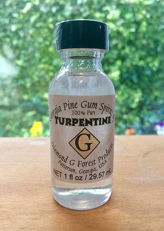 Gum spirits of turpentine