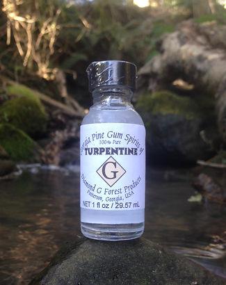 turpentine pure gum spirits