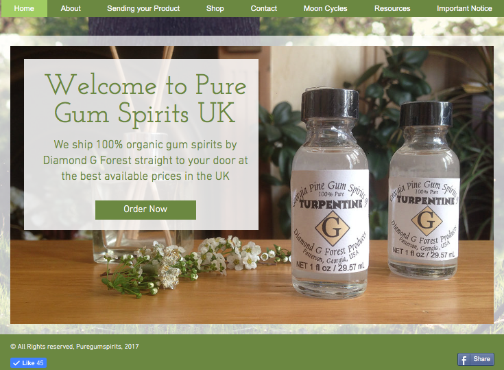 New! - Crystal's Herbal Cleanses | Pure Gum Turpentine