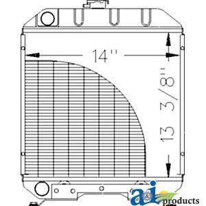 Radiator    A-8N8005