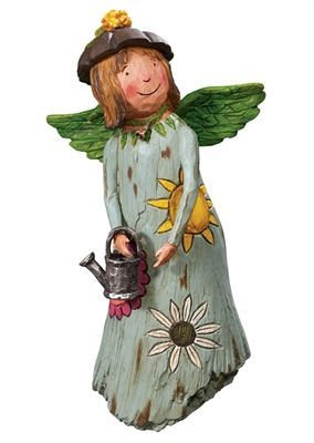 Courage Grows Garden Angel