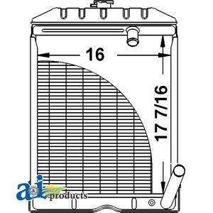 Radiator  C5NN8005AB