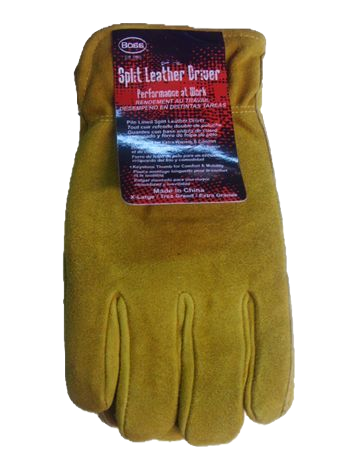 SUEDE COW LINED GLOVES