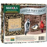 Birdola Seed And Suet Duos