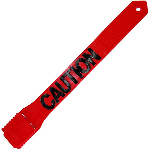 Legband--RED CAUTION