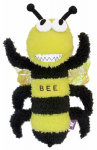 "12""Buzz Off Bee Dog Toy"