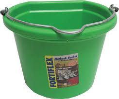 8 QUART FLAT BACK BUCKET