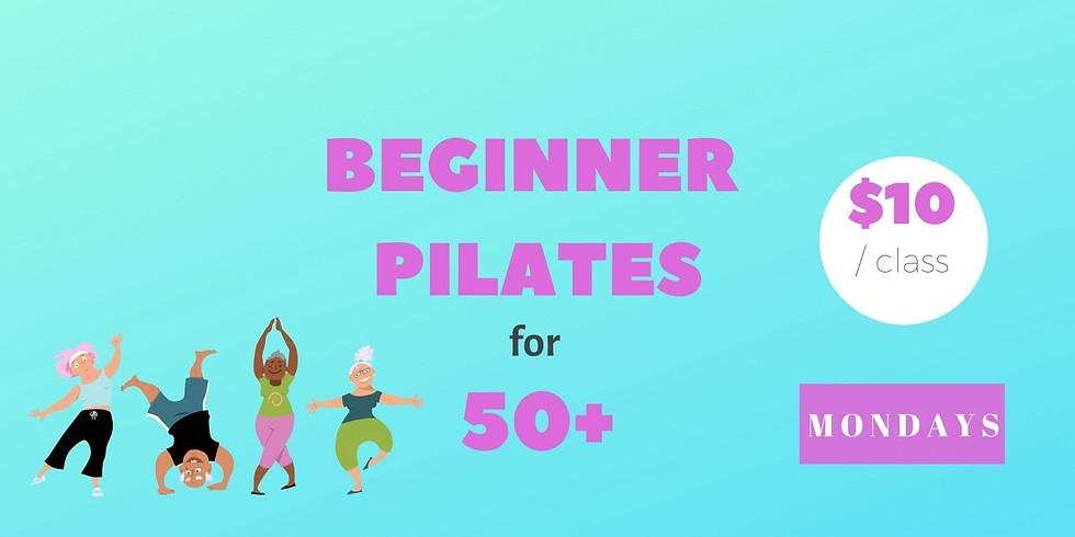 Beginner Pilates for 50+
