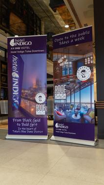Hotel Indigo Retractable Banners