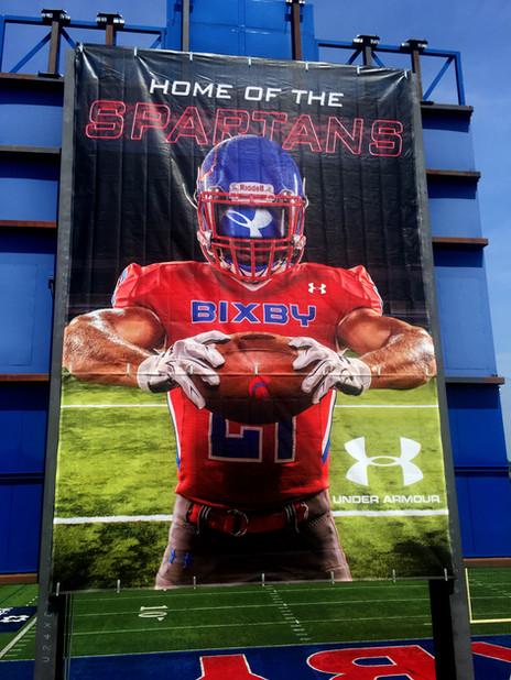 Bixby High School Banner