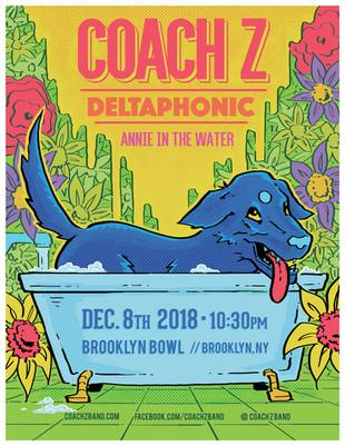 Coach Z gig poster