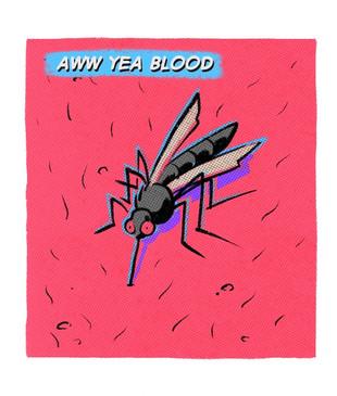 Blood comic