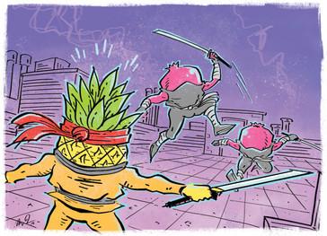 Goofy Froot: Bromeliad's Keeper