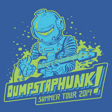 Dumpstaphunk shirt design