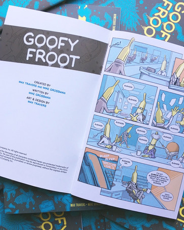 Goofy Froot: Ripe Off The Page