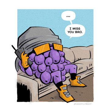 Grapes n Chill comic