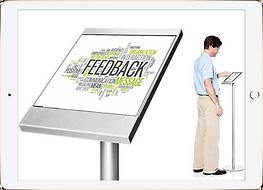 Feedback kiosk