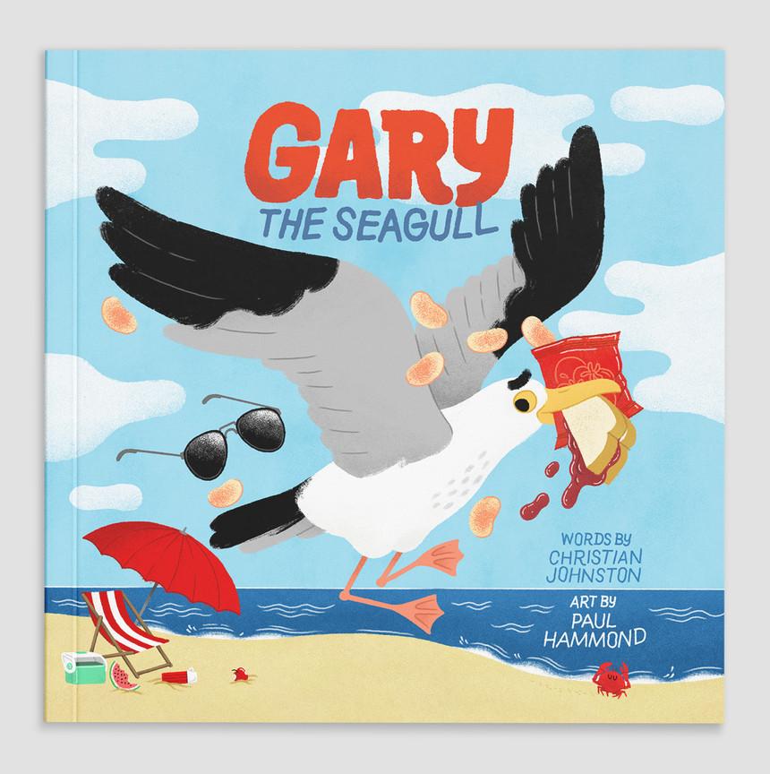 Gary The Segull Cover