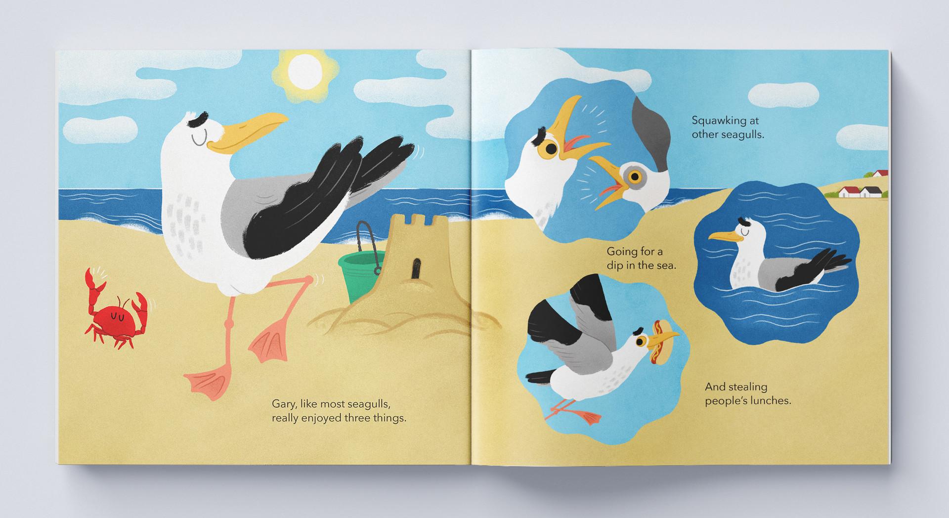 Gary The Seagull interior 01