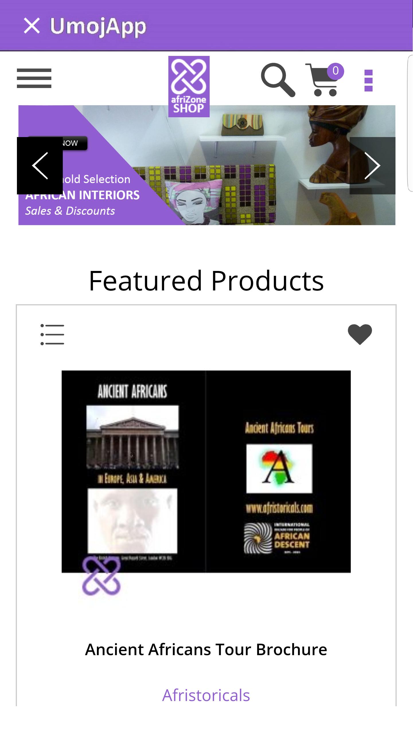 Screenshot_afriZone_home