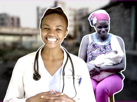 Coronavirus in Kenya: 'I couldn't let women die in childbirth during curfew'