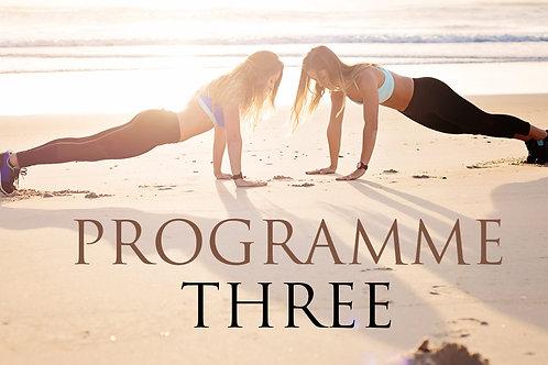 Programme Three