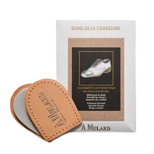 Talonnette en Cuir Véritable / Leather Heel