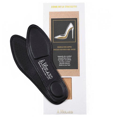 Semelle Escarpin Cuir D'agneau / High heels Insole in leather