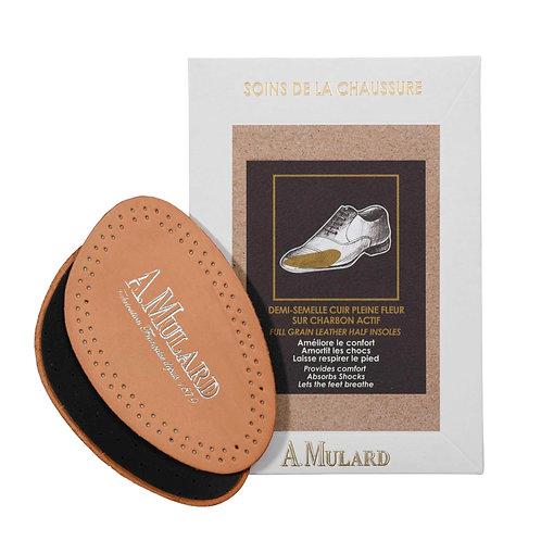 Demi-Semelle en Cuir Véritable / Leather Half Insole