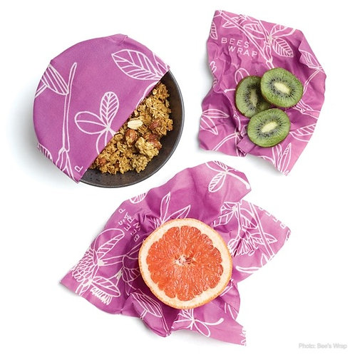 Bee's Wrap Set of 3 Assorted Sizes - Clover Print