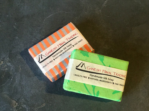 Mulberry Silk Soap