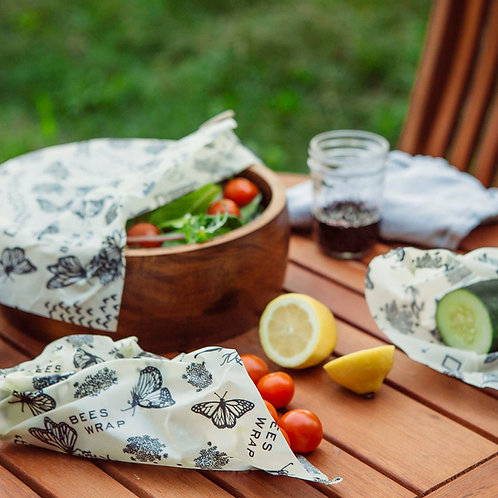 Bee's Wrap Lunch Pack - Monarch + National Geographic