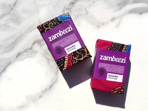 Zambeezi Lavender Beeswax Soap