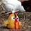 Thumbnail: Funny Chicken Felted Birdhouse