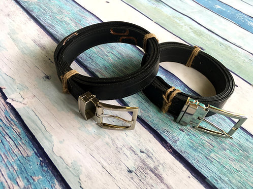 Revved Up Vegan Belt