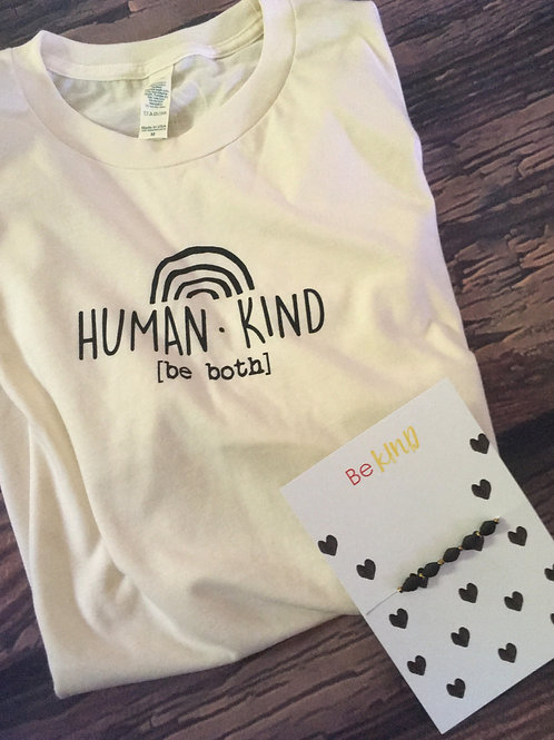 Kindness Shirt & Bracelet Bundle