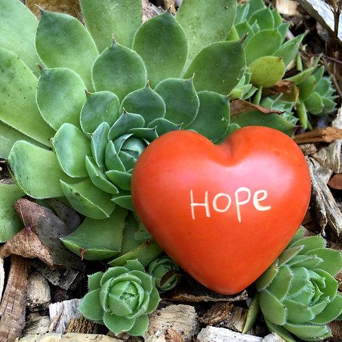 Soapstone Heart - Hope