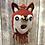 Thumbnail: Friendly Fox Felted Birdhouse