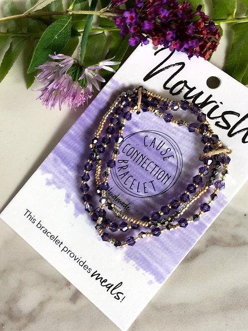 Nourish - Cause Connection Bracelet
