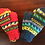Thumbnail: Hand-Knit Wool Mittens - Cerulean