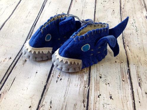 Baby Shark Zootie Booties - Infant
