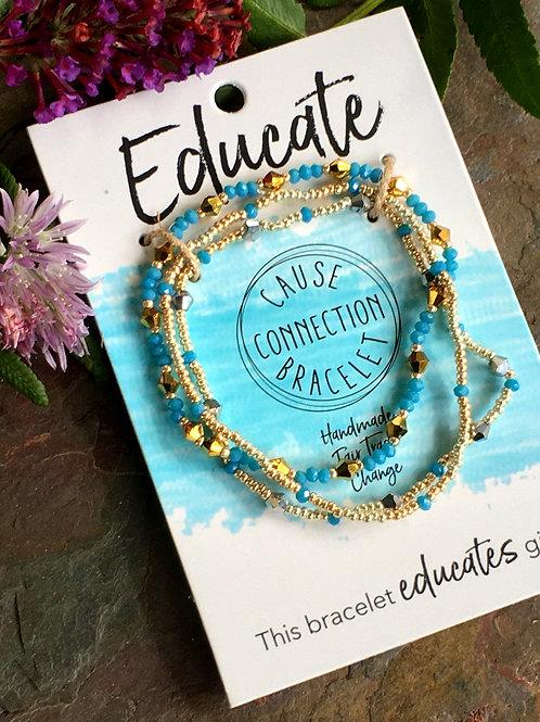 Educate - Cause Connection Bracelet