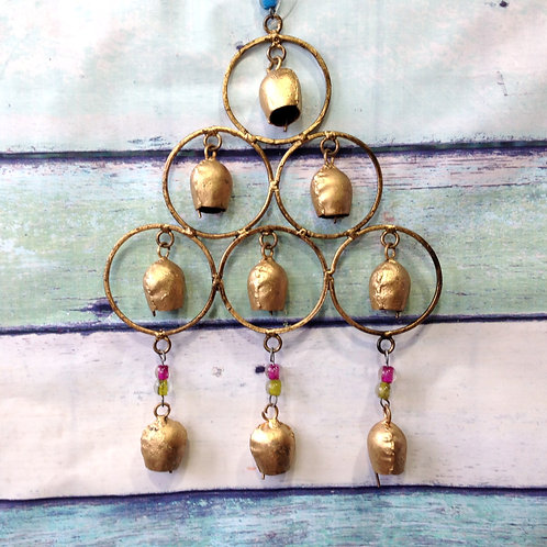 Iron Rings Wind Chime