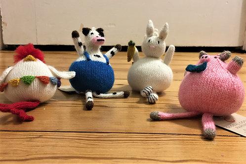 Funny Farm Friends Ornaments