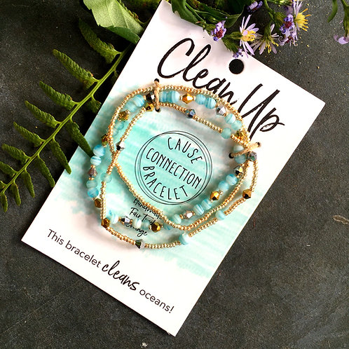 Clean Up - Cause Connection Bracelet