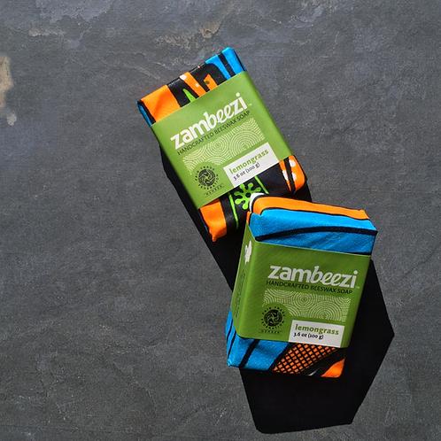 Zambeezi Lemongrass Beeswax Soap