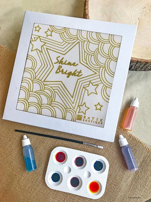 Shine Bright Batik Painting Kit